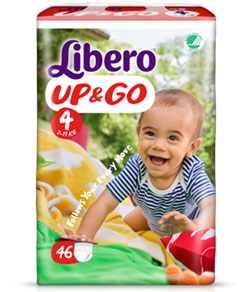 Libero UP&GO size 4 (7-11 kg) pack of 46
