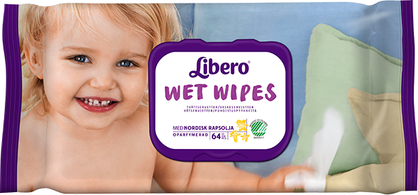 LIBERO WET WIPES 64 st