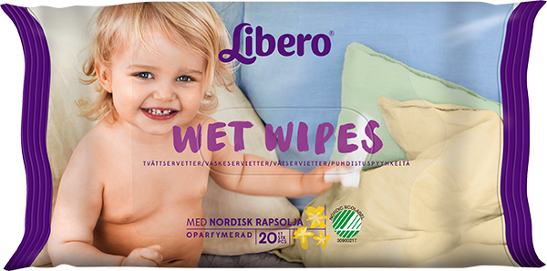 LIBERO WET WIPES 20 st